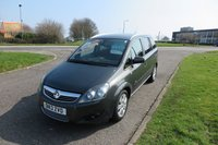 USED 2013 13 VAUXHALL ZAFIRA 1.7 DESIGN CDTI 7 Seater,Alloys,Air Con,F.S.H