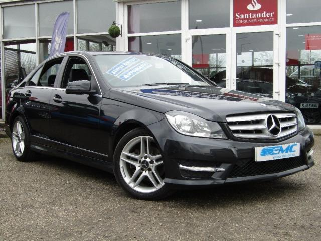2013 13 MERCEDES-BENZ C CLASS 2.1 C220 CDI BlueEFFICIENCY AMG Sport 7G-Tronic Plus 4dr (Map Pilot)