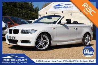 2011 BMW 1 SERIES 2.0 118I M SPORT 2d 141 BHP £10950.00