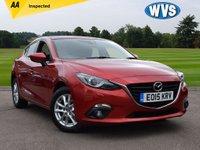 2015 MAZDA 3 2.0 SE-L NAV 4d AUTO 118 BHP £11499.00