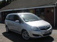 2008 VAUXHALL ZAFIRA 1.9 CDTI DESIGN 5dr 150 BHP AUTO £3990.00