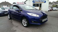 USED 2015 15 FORD FIESTA 1.0 ZETEC 3d 99 BHP One Owner, Full Ford History, Dab, Bluetooth, Alloys!