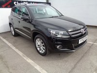 2012 VOLKSWAGEN TIGUAN 2.0 SE TDI BLUEMOTION TECHNOLOGY 4MOTION 5d 138 BHP £10975.00