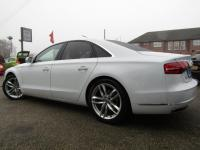 USED 2014 64 AUDI A8 3.0 TDI Sport Executive Tiptronic Quattro 4dr 1 OWNER, 360 CAMERAS, JUST IN