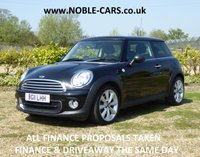 2011 MINI HATCH ONE 1.6 ONE 3d 98 BHP £SOLD