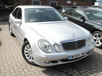 USED 2004 04 MERCEDES-BENZ E CLASS 2.7 E270 CDI ELEGANCE 4d AUTO 177 BHP ANY PART EXCHANGE WELCOME, COUNTRY WIDE DELIVERY ARRANGED, HUGE SPEC