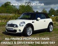 2012 MINI CONVERTIBLE 1.6 COOPER 2d 122 BHP £9595.00