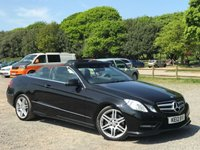 2012 MERCEDES-BENZ E CLASS 3.0 E350 CDI BLUEEFFICIENCY SPORT 2d AUTO 265 BHP £13995.00