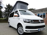 2017 VOLKSWAGEN TRANSPORTER T6 Highline Camper Van Brand New Conversion £37995.00