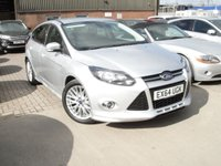 USED 2014 64 FORD FOCUS 1.6 ZETEC S TDCI 5d 113 BHP ANY PART EXCHANGE WELCOME, COUNTRY WIDE DELIVERY ARRANGED, HUGE SPEC