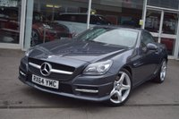 2014 MERCEDES-BENZ SLK 1.8 SLK200 BLUEEFFICIENCY AMG SPORT 2d 184 BHP £15890.00
