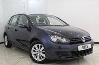 USED 2013 13 VOLKSWAGEN GOLF 1.6 MATCH TDI BLUEMOTION TECHNOLOGY 5DR 103 BHP BLUETOOTH + PARKING SENSOR + CRUISE CONTROL + MULTI FUNCTION WHEEL + CLIAMTE CONTROL + 16 INCH ALLOY WHEELS