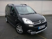 USED 2014 64 CITROEN BERLINGO MULTISPACE 1.6 HDI XTR 5DR 91 BHP SERVICE HISTORY + BLUETOOTH + PARKING SENSOR + CRUISE CONTROL + AIR CONDITIONING + 16 INCH ALLOY WHEELS