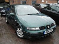 2001 SEAT LEON 1.6 S 5d 103 BHP £SOLD