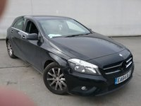 USED 2015 15 MERCEDES-BENZ A CLASS 1.5 A180 CDI ECO SE 5DR 109 BHP SERVICE HISTORY + BLUETOOTH + CRUISE CONTROL + MULTI FUNCTION WHEEL + AIR CONDITIONING + 16 INCH ALLOY WHEELS