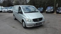 2013 MERCEDES-BENZ VITO 2.1 116 CDI BLUEEFFICIENCY AUTOMATIC LWB £14995.00