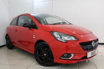 2015 VAUXHALL CORSA 1.4 LIMITED EDITION S/S 3DR 99 BHP £7470.00