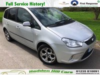 USED 2007 57 FORD C-MAX 1.8 ZETEC 5d 124 BHP Full Service History!