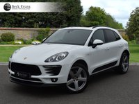 USED 2015 15 PORSCHE MACAN 3.0 D S PDK 5d AUTO 258 BHP PANORAMIC SUNROOF