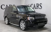 USED 2010 60 LAND ROVER RANGE ROVER SPORT 3.0 TDV6 HSE 5d AUTO 245 BHP IVORY HEATED MEM LEATHER STEPS