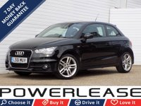USED 2011 61 AUDI A1 1.6 TDI S LINE 3d 103 BHP FREE ROAD TAX BLUETOOTH A/C