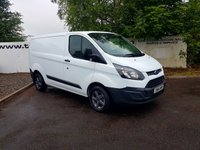2014 FORD TRANSIT CUSTOM 270 2.2 100-155 BHP L1 H1**CHOOSE FROM 70 VANS** £7925.00