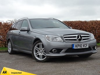 2010 MERCEDES-BENZ C CLASS 2.1 C220 CDI BLUEEFFICIENCY SPORT 5d £9000.00