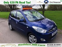 USED 2011 61 HYUNDAI I10 1.2 ACTIVE 5d 85 BHP Very Low Mileage!
