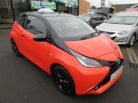 USED 2014 64 TOYOTA AYGO 1.0 VVT-I X-CITE 3d 69 BHP .. CALL 01543 379066 FOR MORE INFO