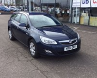 USED 2011 61 VAUXHALL ASTRA 1.7 EXCLUSIV CDTI 5d 123 BHP NO DEPOSIT AVAILABLE, DRIVE AWAY TODAY!!