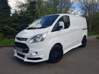"2015 FORD TRANSIT CUSTOM 2.2 270 LIMITED 5dr 125 BHP RS STYLING KIT with 20"" Alloys £15750.00"