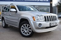 USED 2007 57 JEEP GRAND CHEROKEE 3.0 V6 CRD OVERLAND 5d AUTO 215 BHP THE CAR FINANCE SPECIALIST