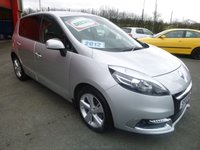 USED 2012 12 RENAULT SCENIC 1.6 DYNAMIQUE TOMTOM ENERGY DCI S/S 5d 130 BHP