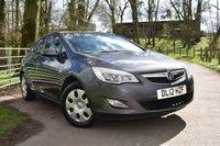 2012 VAUXHALL ASTRA 1.4 EXCLUSIV 5d 98 BHP £4995.00
