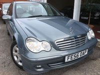 2006 MERCEDES-BENZ C CLASS 1.8 C180 KOMPRESSOR ELEGANCE SE 4d AUTO 141 BHP £3850.00