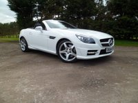 2014 MERCEDES-BENZ SLK 2.1 SLK25207 CDI BlueEFFICIENCY AMG Sport 7G-Tronic Plus (s/s) 2dr £18490.00