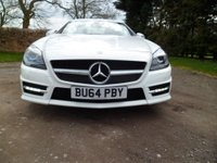 USED 2014 64 MERCEDES-BENZ SLK 2.1 SLK25207 CDI BlueEFFICIENCY AMG Sport 7G-Tronic Plus (s/s) 2dr HIGHEST SPEC SLK AVAILABLE. SAT NAV. LED HEADLIGHTS. AIR SCARF. STUNNING EXAMPLE