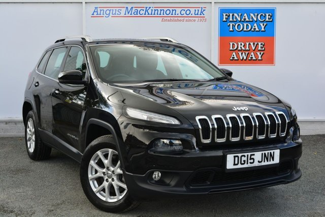 2015 15 JEEP CHEROKEE 2.0 M-JET LONGITUDE PLUS 5d 4x4 Family SUV AUTO Lowest Mileage one in the UK