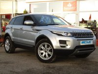 USED 2012 12 LAND ROVER RANGE ROVER EVOQUE 2.2 TD4 PURE 5DR