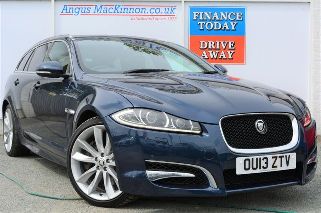 2013 13 JAGUAR XF 3.0 D V6 S PORTFOLIO SPORTBRAKE 5d Estate AUTO 275 BHP Power Performance and Great High Spec