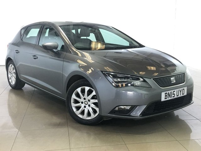 View our 2015 15 SEAT LEON 1.6 TDI ECOMOTIVE SE TECHNOLOGY 5d 110 BHP