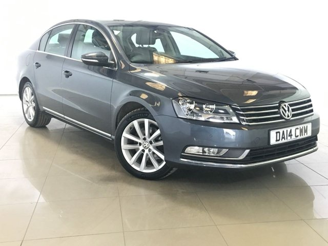 View our 2014 14 VOLKSWAGEN PASSAT 2.0 EXECUTIVE TDI BLUEMOTION TECHNOLOGY 4d 139 BHP