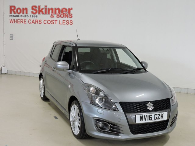 View our 2016 16 SUZUKI SWIFT 1.6 SPORT 5d 136 BHP