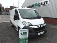 2015 CITROEN RELAY 2.2 30 L1H1 HDI  110 BHP 1 OWNER FROM NEW GAH REFRIGERATION UNIT £12495.00