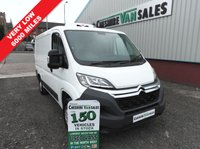 USED 2015 64 CITROEN RELAY 2.2 30 L1H1 HDI  110 BHP 1 OWNER FROM NEW GAH REFRIGERATION UNIT