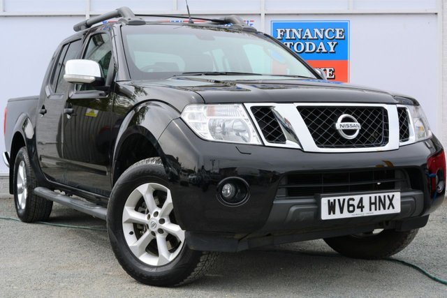 2014 64 NISSAN NAVARA 2.5 DCI TEKNA 4X4 SHR Double Cab Pickup Great High Spec
