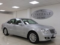 USED 2006 56 MERCEDES-BENZ E CLASS 3.0 E280 ELEGANCE 4d AUTO 228 BHP 1  OWNER, FULL HISTORY, SAT NAV, LEATHER, MOT 13.3.19