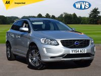 USED 2014 64 VOLVO XC60 2.4 D4 SE AWD 5d 178 BHP A lovely 1 keeper 2014 Volvo  XC60 2.4 D4 SE AWD 5dr manual in silver metallic with 68000 miles, Volvo service history and 2 keys.