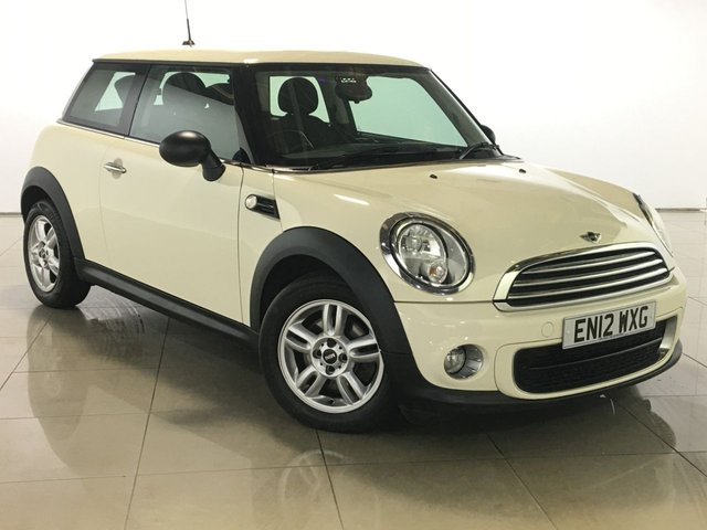 View our 2012 12 MINI HATCH ONE 1.6 ONE D 3d 90 BHP