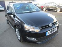 2011 VOLKSWAGEN POLO 1.4 MATCH DSG 5d AUTOMATIC  83 BHP £6295.00
